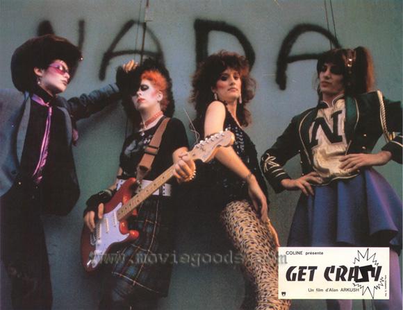 Sparks - Malcolm McDowell - Get Crazy - Hot Shot